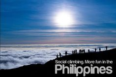 """The Philippines' tourism slogan """"It's More Fun in the Philippines"""" is getting the viral treatment. Philippines Tourism, Les Philippines, Tourism Department, Mountain Hiking, Mountain Climbing, International Day, Manila, More Fun, Beautiful Places"""