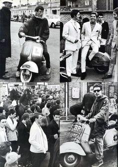 Mods, Hastings, England, 1964