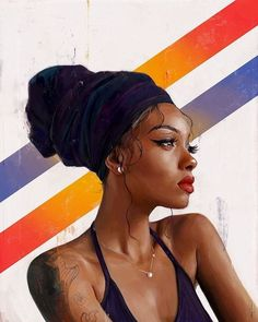 — Alexis FranklinYou can find Black women art and more on our website. Black Love Art, Black Girl Art, Black Is Beautiful, Black Girl Magic, Black Art Painting, Black Artwork, Portraits, Portrait Art, Drawings Of Black Girls