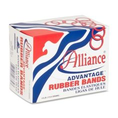 "Rubber Bands, Size 18, 1/4 lb., 3""x1/16"", Natural (Set of 4)"