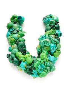 Federica Sala - frogs neckpiece - balloons ... 2013 Alchimia