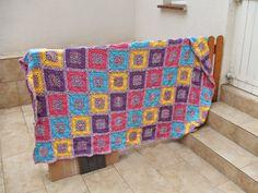 Blanket for me, afghan, crochet, gehäkelte Decke