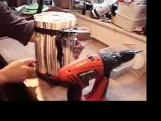 Making a 'Sunday Papers' stool - YouTube