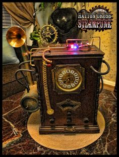 Amazing room and bedroom decor ideas for all steampunk enthusiast!