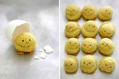 The cutest thing ever - Easter Chick Cookies | Easter Sweet Treats