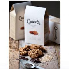 Quinette biologische Quinoa koekjes  SHOP ONLINE: http://www.purelifestyle.be/shop/view/giving/verwennerijen/quinette-biologische-quinoa-koekjes