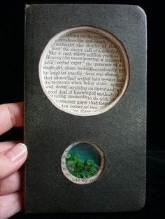 brooke schmidt: altered book art