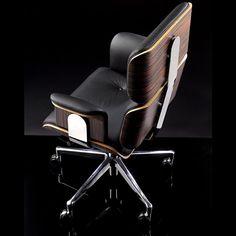 Luxury Office Chairs, Best Office Chair, Executive Office Chairs, Home Office Chairs, Cool Office, Office Ideas, Italian Furniture Design, Office Furniture Design, Home Office Design