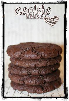 m 50 g cs 25 kakao 1 t l 180 16 db. Fancy Cookies, Cake Cookies, Cake Recipes, Dessert Recipes, Desserts, Good Foods To Eat, Dessert Drinks, Cookie Bars, Pavlova