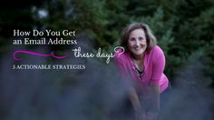 What do you have to do to get an email address thesedays? April 27, 2015 by Kristy Schnabel Leave a Comment