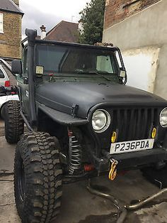 eBay: 2002 Jeep Wrangler Grizzly 4.0L – low 50,971 miles – Manual