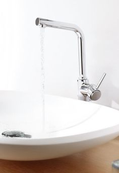 Grohe Atrio: Die Einhand Waschtischarmatur In L Size Mutet Mit Ihrem  Schlanken,