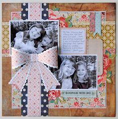 Layout: Sisters by Jana Eubank featuring Lucille from BasicGrey