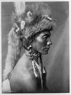 Native American Edward Curtis Yellow Kidney by griffinlb, via Flickr