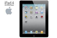 Apple iPad 4 with Retina Display and Wi-Fi (16GB, 4th Gen)