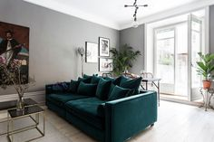 Модный дизайн всего на 38 кв. м | Пуфик - блог о дизайне интерьера