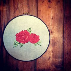 Roses PDF Cross Stitch Pattern