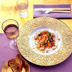 Rezept: Kürbis-Kichererbsen-Salat