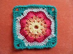 Transcendent Crochet a Solid Granny Square Ideas. Inconceivable Crochet a Solid Granny Square Ideas. Crochet Square Pattern, Crochet Blocks, Square Patterns, Crochet Squares, Crochet Granny, Crochet Motif, Crochet Stitches, Crochet Patterns, Granny Squares