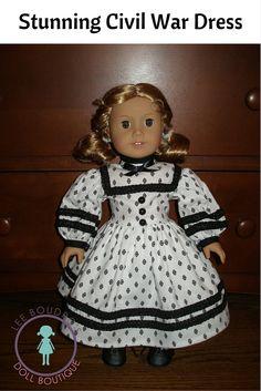 Custom-made Civil War Dress