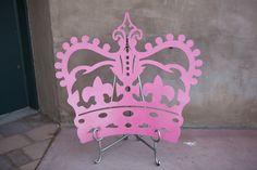 """Custom 24"""" Crown with Fleur Di Les Top"""
