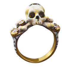 Vita Gold and Diamond Ring