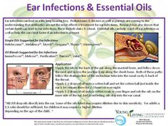 ear infections and young living oils