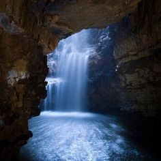 Smoo Cave Falls, Durness, Sutherland, the Highlands, Scotland Uk Landscapes, Beautiful Landscapes, Beautiful Waterfalls, The Places Youll Go, Places To See, England, All Nature, Scottish Highlands, Highlands Scotland