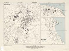 خريطة مصراته سنة 1943