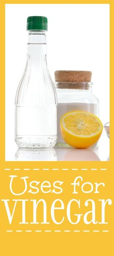 Household Uses for Vinegar - Vinegar is extremely versatile product that you already have in your home! Check out these ingenious household uses for vinegar from cleaning to freshening and so much more. | cleaning | tips | hacks | natural