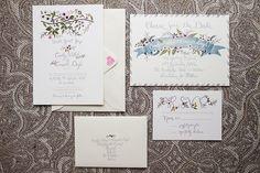 Christina-Brosnan-Caroline-and-Garrett-2. Read More - http://onefabday.com/elegance-woodland-setting-carolyn-garretts-brooklodge-wedding/