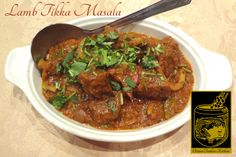 Lamb Tikka Masala ~ Tandoori Lamb Tikka cooked lightly in onion sauce, ginger, and tomatoes at Original Tandoori Kitchens Lamb Tikka Masala, Tandoori Lamb, Onion Sauce, Best Butter, Butter Chicken, Indian Food Recipes, Tomatoes, Kitchens, Pork