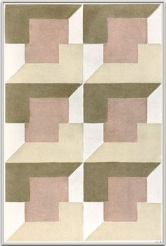 Textile design by Elise Djo-Bourgeois