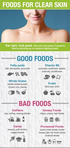 Feed your skin, eat right for natural beauty. Smooth Skin - Adult Acne - Eat Right #naturalbeauty #smoothskin #adultacne