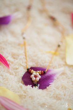 Mehek flower mangalsutra