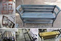 DIY-Bench-From-Old-Chairs.jpg (601×405)
