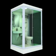 Combination Sink Toilet Fixture Bathroom Prefab Toliet