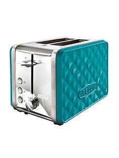 Retro Home Decor ~=~ Fabulous Turquoise Toaster !! ~:<3