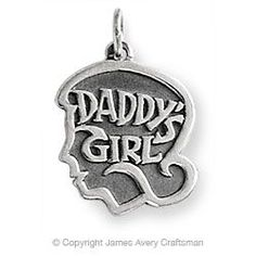 """""""Daddy's Girl"""" Charm from James Avery"""