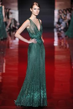 Elie Saab Fall Couture 2013 - Slideshow - Runway, Fashion Week, Reviews and Slideshows - WWD.com