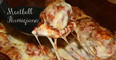 Ridiculous Meatball Parmigiana To Spoil Your Family For Good  Click here for the cheesy delicious recipe!