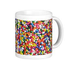 #Rainbow #sprinkles coffee #mugs #zazzle
