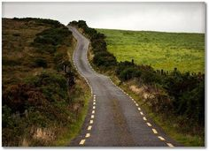 A road in Ireland