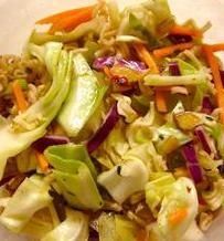 Ramen Noodle Cabbage Salad Light for Weight Watchers - 5 POINTS
