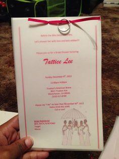 Bridal shower invitations #bridalshower