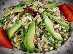Salada de frango e abacate   SAPO Lifestyle