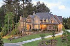Красивый дом в живописном месте