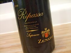 I think this might have been the wine we had on our first date. Zenato Ripassa Valpolicella DOC