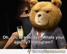 Oh, so you're a model? | Funny Pictures, Quotes, Photos, Pics, Images. Free Humorous Videos and Facebook Covers