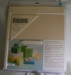 Martha Stewart Crafts Scoring Board product review